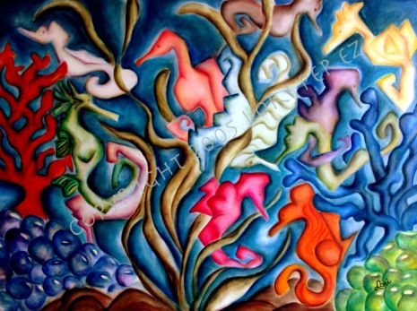 seahorses copyright